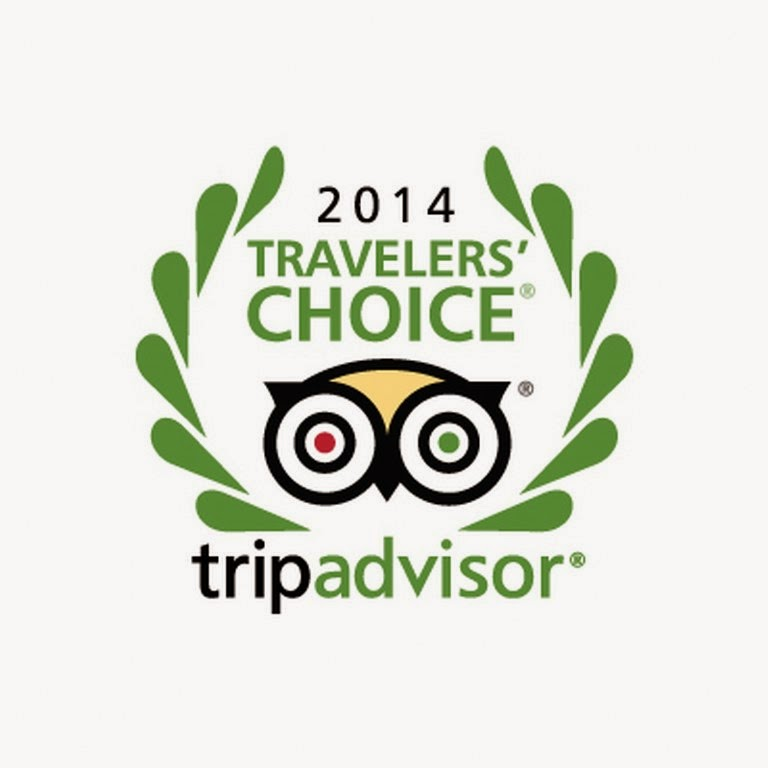 TripAdwisor Travelers Choice 2014